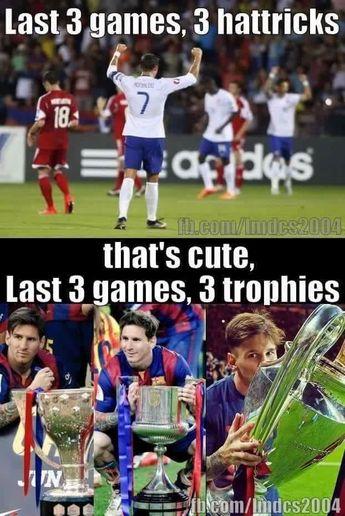 Ronaldo vs Messi!
