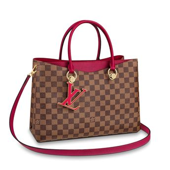 0dc848e1f7a4 View 1 - Damier Ebene HANDBAGS All Handbags LV Riverside