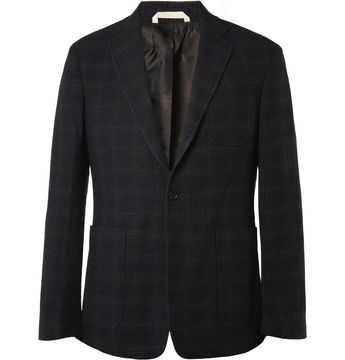 372b537e Billy Reid Rustin Slim-Fit Plaid Wool-Blend Blazer | MR PORTER