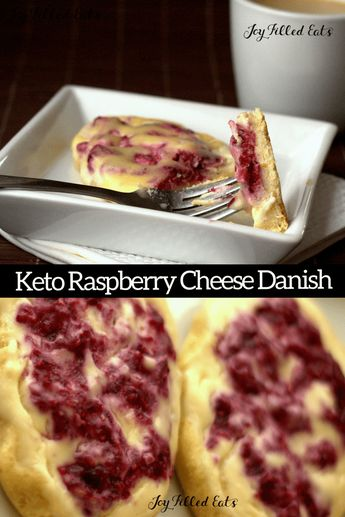Keto Raspberry Cream Cheese Danish. This Raspberry Cream Cheese Danish Recipe has a golden pastry dough topped with sweet cream cheese and raspberry is divine. Splurge on this indulgent brunch treat while sticking to your gluten free or low carb diet. Sugar-Free THM S