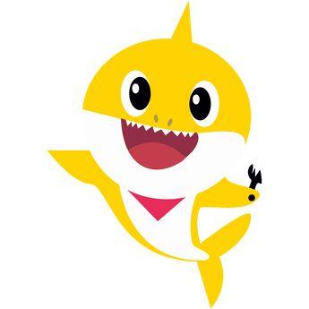 Topo De Bolo Baby Shark Png Para Imprimir