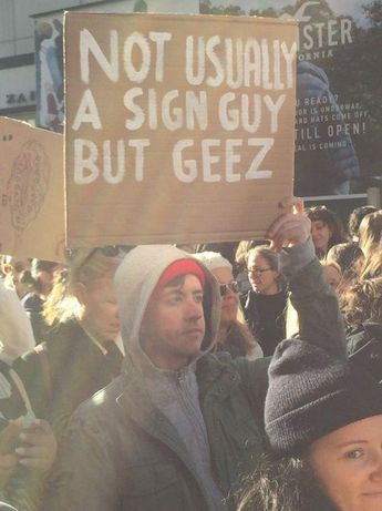"The Greatest ""Anti-Protest"" Protest Signs Ever"