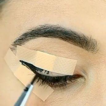 09c9fcdb535 Eyeliner hack 😍😘 - orva.pinxhouse