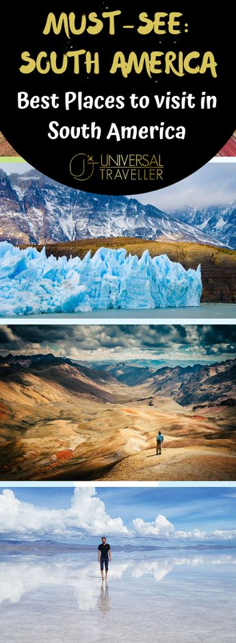 Best places and countries to visit in South America