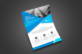 Minimal Print Flyer Design - Graphic Templates