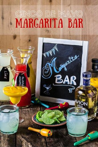 How to Set Up the Coolest Margarita Bar for Cinco de Mayo!