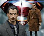 1/6 Henry Cavill Full Clothing Sets For 12'' Superman GANGHOOD COOMODEL Figure  #Figure