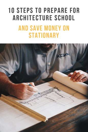 If you're heading off to University to study architecture, here are your ten preparation steps, along with ways to save money and stick to your budget when buying stationary and model making materials.