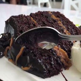 The Most Amazing Fudgy Chocolate Cake