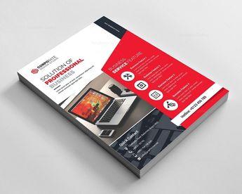 Modern Elegant Corporate Flyer - Graphic Templates