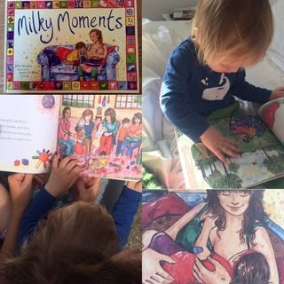 GuardianWitness - My daughter enjoying Milky Moments by Ellie Stonely.