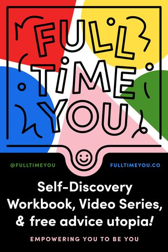 Learn about yourself in a fun workbook.