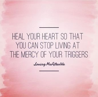 Heal your heart so you can stop living at the mercy of your triggers.