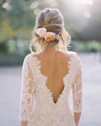 50+ Wedding Dresses With V Shaped Back Ideas 47