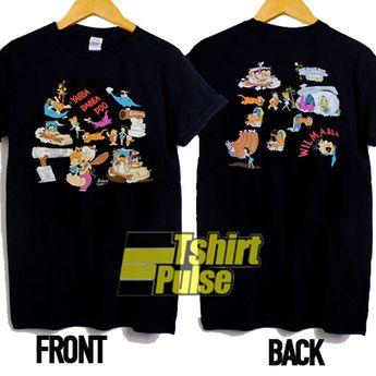 All Cast Of Flintstones t-shirt for men and women tshirt
