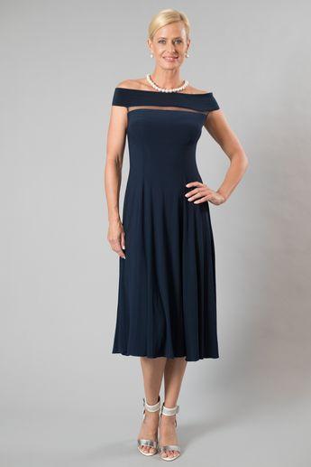 Audrey Dress - Midnight Blue