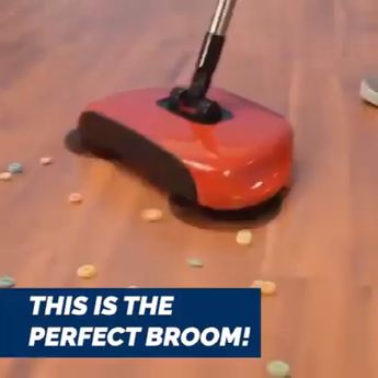 Shop Now>>57% OFF Today!High-Tech Sweeping Device, No Electricity Needed (All In One Floor-Cleaner)