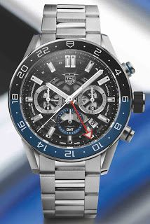 968e46082f7bf montre luxe collection  Baselworld 2018 Tag Heuer Carrera Chronograph GMT  Montre