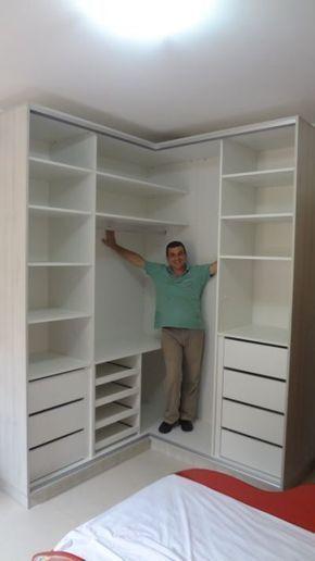 Take advantage of height in a walk-in closet design