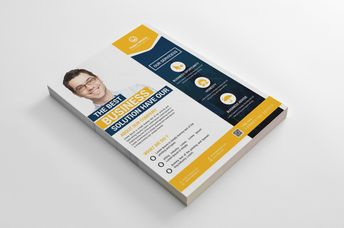 Madison Modern Business Flyer Design Template - Graphic Templates
