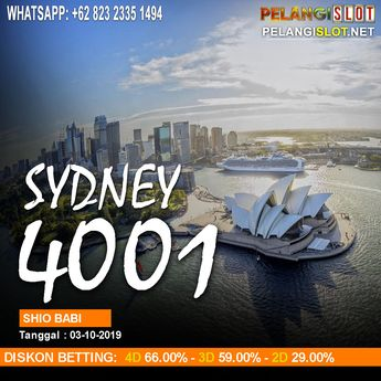 HASIL RESULT SYDNEY POOLS 03 OCTOBER 2019