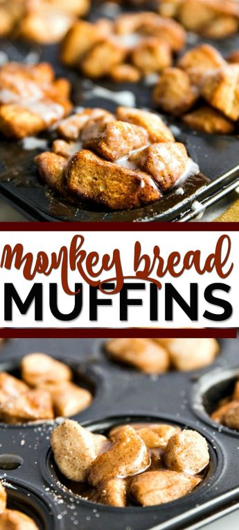 If you're like me and you believe you can never go wrong with monkey bread, you're going to want to inhale these monkey bread muffins.It's the muffin recipe of all muffin recipes. I mean, it's monkey bread, so that right there is an instant win.