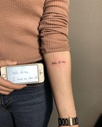 Tekst Tattoo Arm Tatoo Ideas And Images Pikef