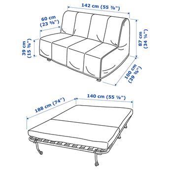 Incredible Seabury Upholstered Sleeper Sofa With Memory Foam Mattress Creativecarmelina Interior Chair Design Creativecarmelinacom