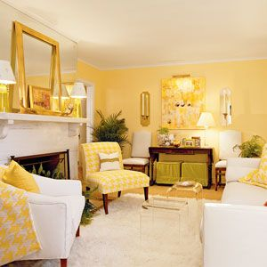 Decorate with Yellow