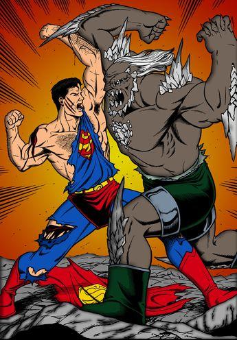 superman vs doomsday comic book | superman vs doomsday by jmascia fan art cartoons comics digital books ...