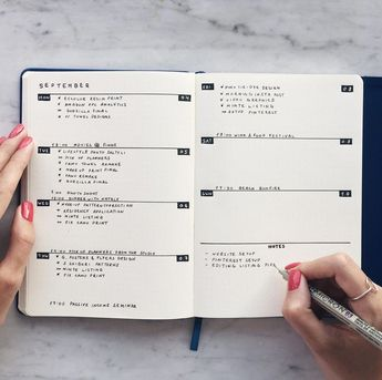 Weekly spread for minimalistic bullet journals #bulletjournalweeklyspread - #bullet #bulletjournalweeklyspread #journals #minimaliste #Minimalistic #spread #weekly