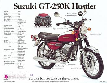 Suzuki GT-250K Hustler