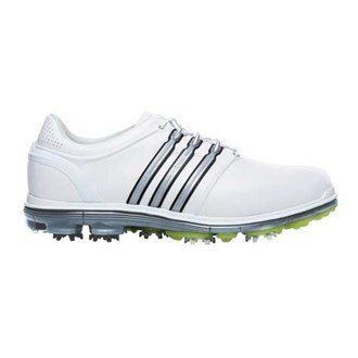 the latest 8e5c9 370dc Mens Golf Shoes Idea  adidas Mens Leather GolfShoes 105 UK White  You