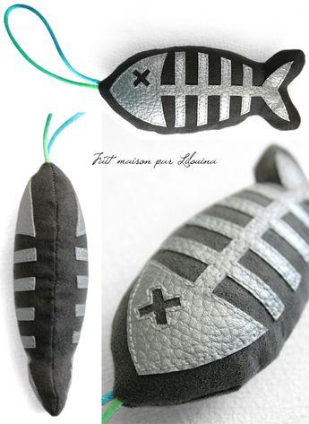Tuto poisson jouet pour chat... - Fait maison par Lilouina