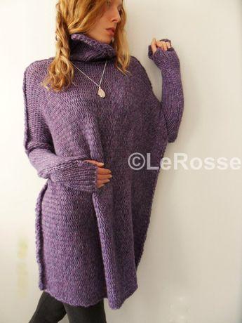 bd0aae24c Oversized   Slouchy   Bulky knit sweater. Alpaca Wool от Le