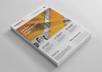Las Vegas Modern Business Corporate Flyer Template - Graphic Templates