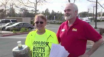 'Butt Lady Of Auburn' Picks Up 1 Million Cigarette Butts