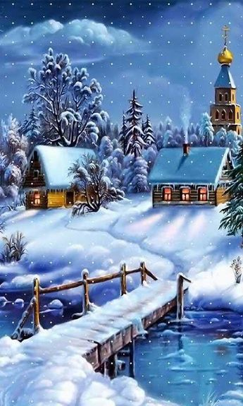 Snowy Winter, Icy World - 2 - Android Wallpapers, HTC T-Mobile G2, G1 Wallpapers free download
