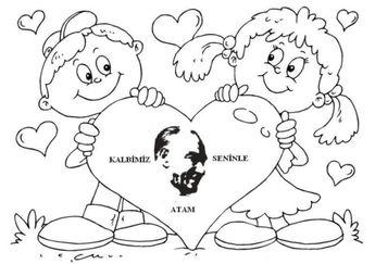 29 Ekim Cumhuriyet Bayramı Boyama Sayfaları Dersteknikco