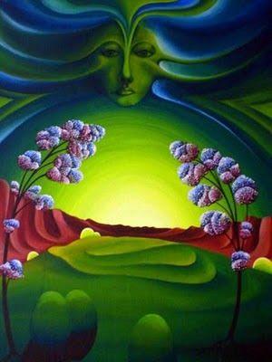 RUNA kunst: All - durchflutendes Licht RZ © 1974 / Privatbesitz
