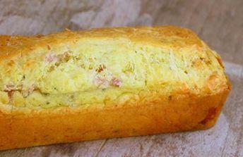 Cake aux noix et lardons au thermomix » Recette Thermomix