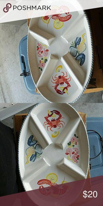 0df83a665b6 Lobster platter Beautiful Lobster platter ceramic Accessories