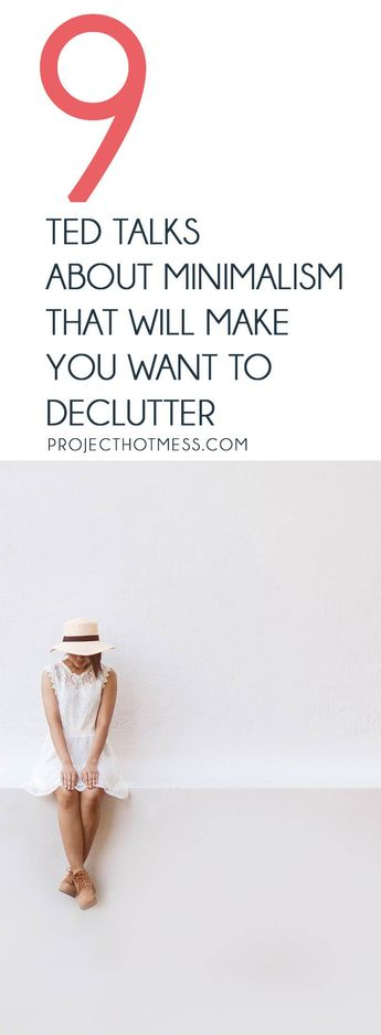 9 TED Talks About Minimalism That Will Spark Your Decluttering Desire