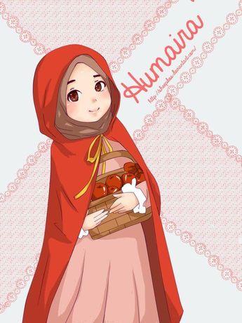 50 Gambar Kartun Muslimah Korea Gratis Terbaik