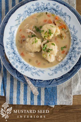Easy Chicken & Dumplings