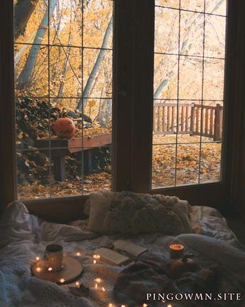 grand selbst selbst esthétique feuilles octobre confort bougie talon anthropologie citrouille