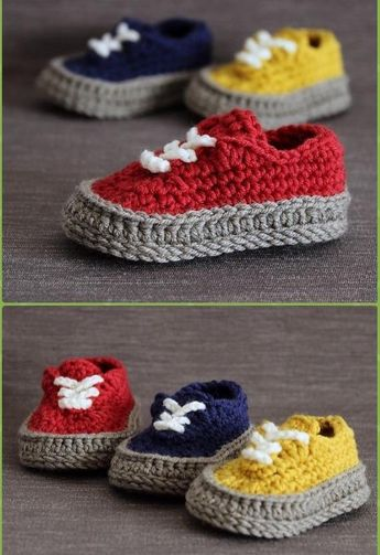 --- advertisements --- --- advertisements --- Baby booties are always a great homemade gift idea for baby showers. These crochet baby booties are not just adorable, but they are very practical at the same time as they will keep your baby's feet warm and safe. Check them out in the link below. Crocheted Baby Sneakers … Continue reading
