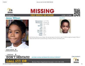 Find Jesse Wilson, Still Missing! ***(TRAGIC UPDATE: FOUND DECEASED)***