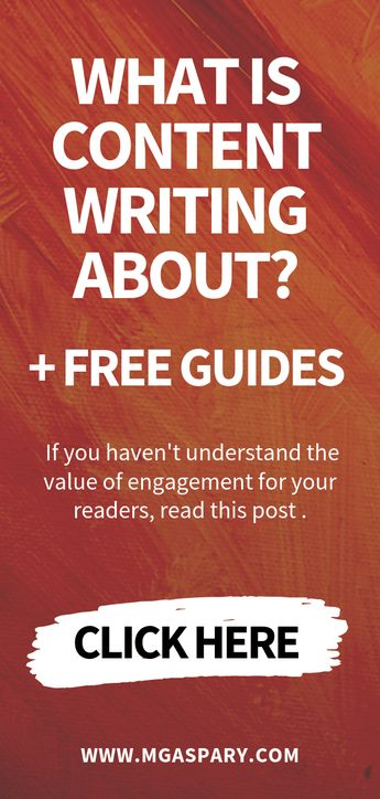 What Is Content Writing About + FREE Guides