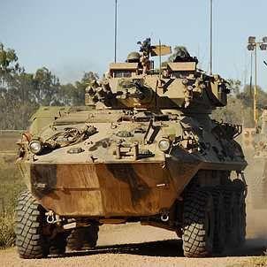 Australian ASLAV-25